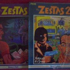Cómics: EL ZESTAS - TOMOS 1 Y 2 COMPLETO -. Lote 47803891