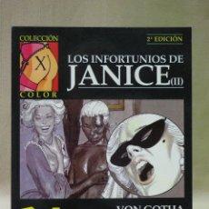 Cómics: COMIC, COLECCION X, LOS INFORTUNIOS DE JANICE II, LA CUPULA, 1991, Nº33. Lote 41835142