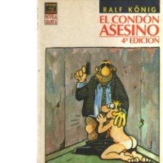 Cómics: EL CONDÓN ASESINO 4ª EDICIÓN RALF KÖNIG ED. LA CÚPULA - CJ37. Lote 42109331
