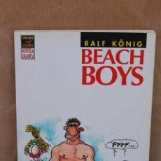 Cómics: RALF KÖNIG – BEACH BOYS – 1ª ED. AÑO 1993 – NOVELA GRÁFICA – LA CÚPULA – MUY BUEN ESTADO. Lote 42966679