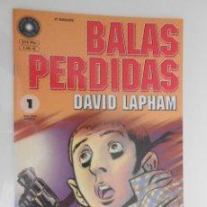Cómics: BALAS PERDIDAS*DAVID LAPHAM**NÚMERO 1*** 2ª EDICION**2001. Lote 43190944