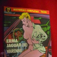 Cómics: HISTORIAS COMPLETAS EL VIBORA 19 - ERMA JAGUAR 2 - VARENNE. Lote 43523568