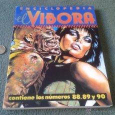 Cómics: COMIC ENCICLOPEDIA LIBRO EL VIBORA LA CUPULA 1987 CONTIENE LOS NUMEROS 88 89 Y 90. CASI SIN USO VER. Lote 43944630