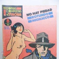 Cómics: HISTORIAS COMPLETAS DE EL VÍBORA. Nº 8. NO HAY PIEDAD. ROTUNDO/MIGNACCO. Lote 44091521