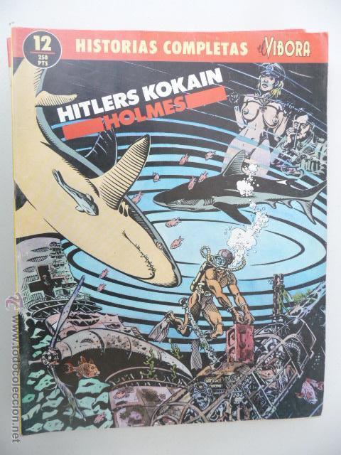 HISTORIAS COMPLETAS DE EL VÍBORA. Nº 12. HITLERS KOKAIN. HOLMES (Tebeos y Comics - La Cúpula - El Víbora)