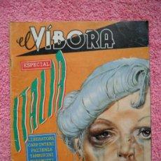 Comics: EL VIBORA ESPECIAL ITALIA EDITORIAL LA CUPULA 1984 MAS ALLA DE LAS LINEAS. Lote 45162319