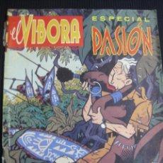 Cómics: EL VIBORA. ESPECIAL PASION. EDICIONES LA CUPULA.. Lote 45267476
