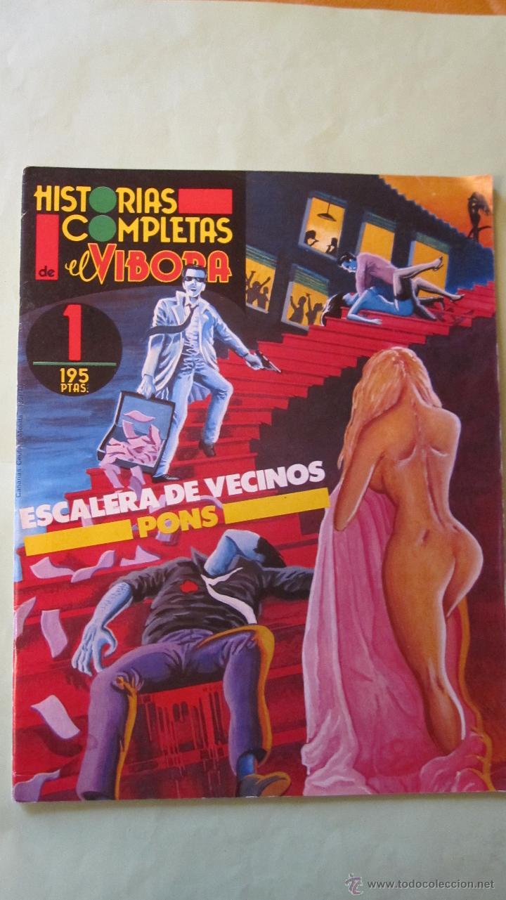 EL VIVORA: HISTORIAS COMPLETAS Nº 1 ((( SU PRIMER NUMERO ))) (Tebeos y Comics - La Cúpula - El Víbora)