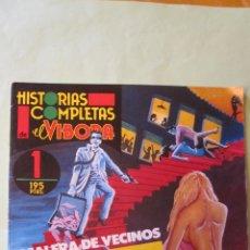 Cómics: EL VIVORA: HISTORIAS COMPLETAS Nº 1 ((( SU PRIMER NUMERO ))). Lote 46306698