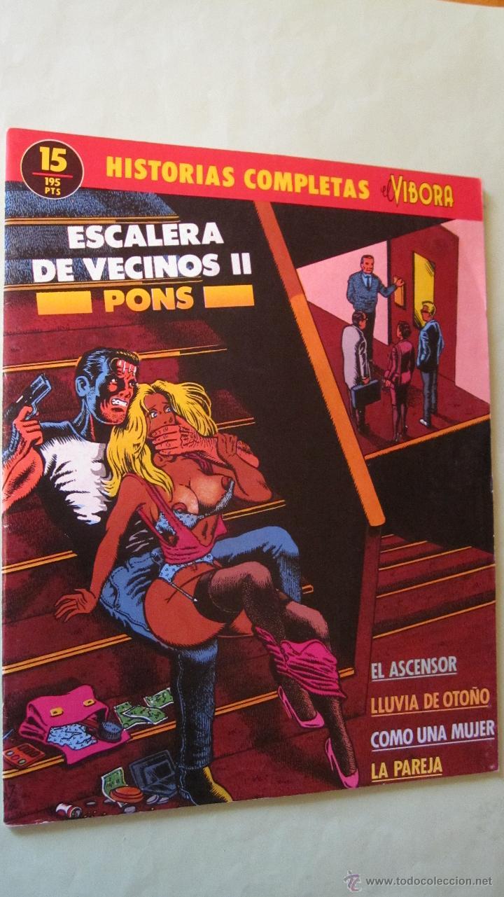 EL VIVORA: HISTORIAS COMPLETAS Nº 15 (Tebeos y Comics - La Cúpula - El Víbora)