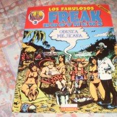 Cómics: LOS FABULOSOS FREAK BROTHERS COLECCIÓN SHELTON Nº 2 DAVE SHERIDAN G. SHELTON LA CÚPULA 2004. Lote 46599821