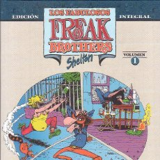 Cómics: LOS FABULOSOS FREAK BROTHERS / SHELTON , INTEGRAL TOMO 1. Lote 46838707