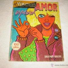 Cómics: EL VIBORA . ESPECIAL AMOR. Lote 47108117