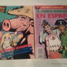 Cómics: EL CERDO EDMUNDO / EL CERDO EDMUNDO EN ESPAÑA (LOS 2) - ROCHETTE / VEYRON. Lote 47121985