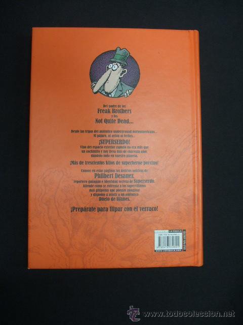 Cómics: LAS MEJORES HISTORIAS DE WONDER WART-HOG - EL SUPERSERDO - FIRMADO Y CON DIBUJO DE GILBERT SHELTON - - Foto 9 - 47424653