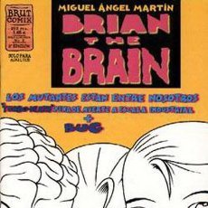 Cómics: BRIAN THE BRAIN LOTE DE 5Nº 1-2-3-5-6. Lote 47495235