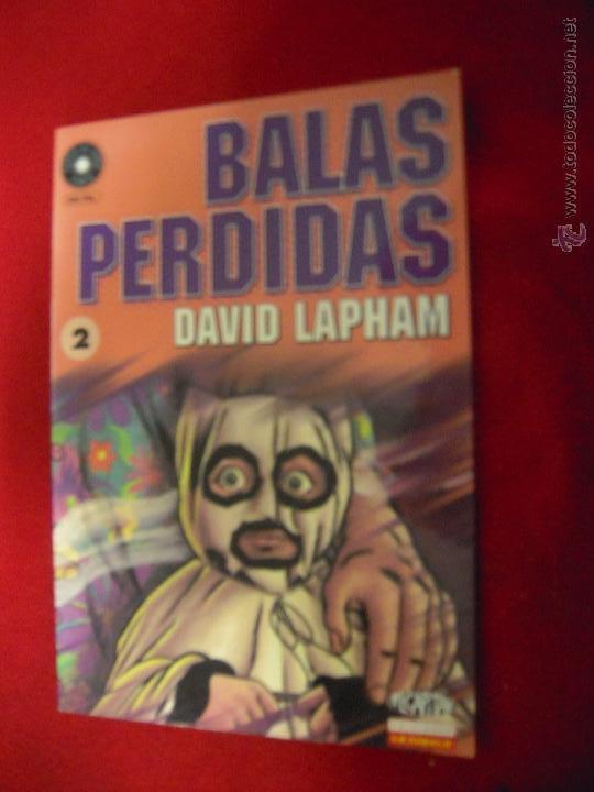 BALAS PERDIDAS 2 - DAVID LAPHAM - FUERA DE SERIE COMIX (Tebeos y Comics - La Cúpula - Comic Europeo)