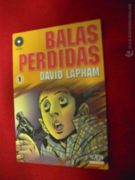 BALAS PERDIDAS 1 - DAVID LAPHAM - FUERA DE SERIE COMIX (Tebeos y Comics - La Cúpula - Comic Europeo)