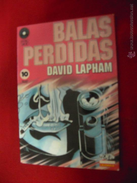 BALAS PERDIDAS 10 - DAVID LAPHAM - FUERA DE SERIE COMIX (Tebeos y Comics - La Cúpula - Comic Europeo)