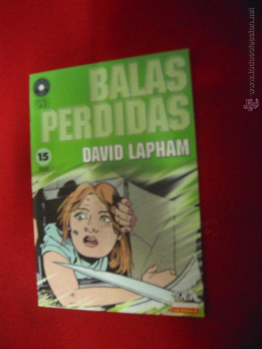 BALAS PERDIDAS 15 - DAVID LAPHAM - FUERA DE SERIE COMIX (Tebeos y Comics - La Cúpula - Comic Europeo)