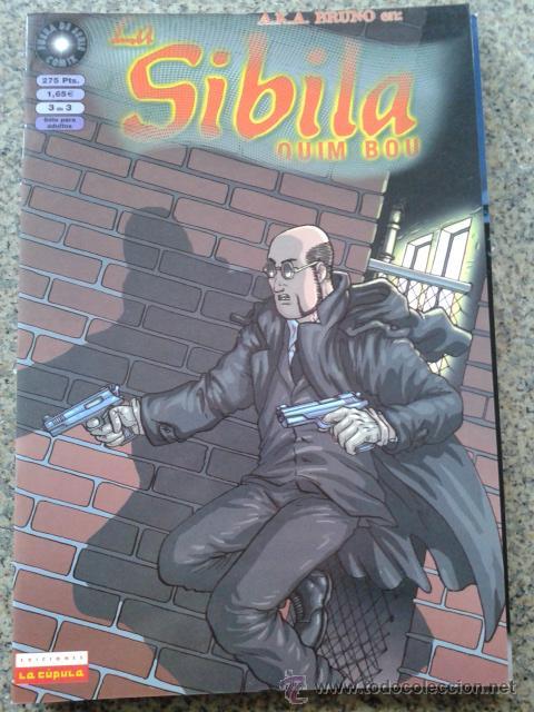 LA SIBILA -- Nº 3 DE 3 -- QUIM BOU -- LA CUPULA -- (Tebeos y Comics - La Cúpula - Comic Europeo)