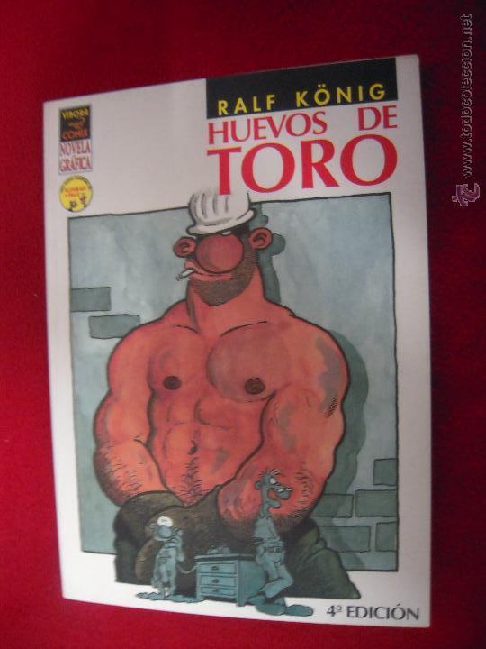 HUEVOS DE TORO - RALF KONIG - RUSTICA (Tebeos y Comics - La Cúpula - Autores Españoles)
