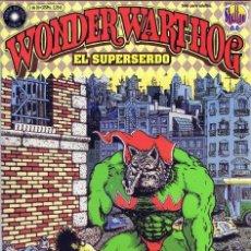 Cómics: WONDER WART-HOG EL SUPERSERDO LOTE DE 4 Nº 1-3-4-9 . Lote 48318852