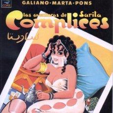Cómics: COMIC PARA ADULTOS.- LAS AVENTURAS DE SARITA : COMPLICES (DE GALIANO Y MARTA PONS).PRECINTADO.. Lote 48686120
