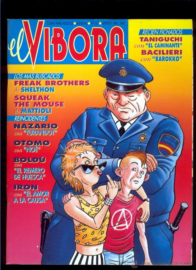 EL VÍBORA 151 (Tebeos y Comics - La Cúpula - El Víbora)