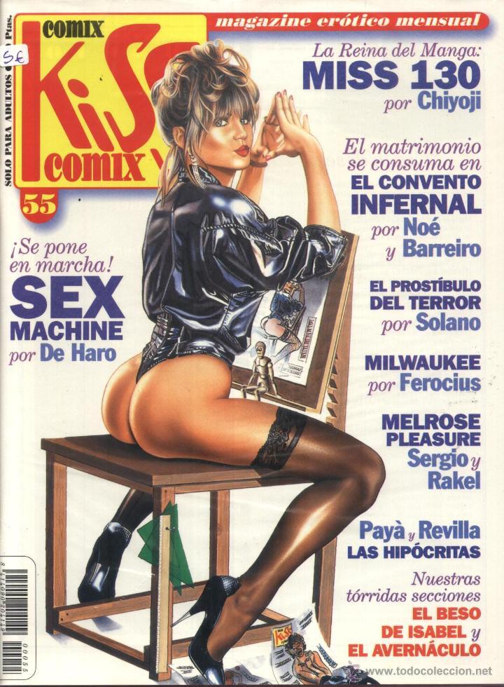 COMIX KISS COMIX - Nº 55 (Tebeos y Comics - La Cúpula - Autores Españoles)