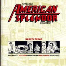 Cómics: AMERICA SPLENDOR N1 HARVEY PEKAT ALTOLOGIA AÑO 2011 CAJA 195. Lote 49160265