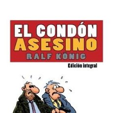 Cómics: CÓMICS. EL CONDON ASESINO. INTEGRAL - RALF KÖNIG. Lote 49248979