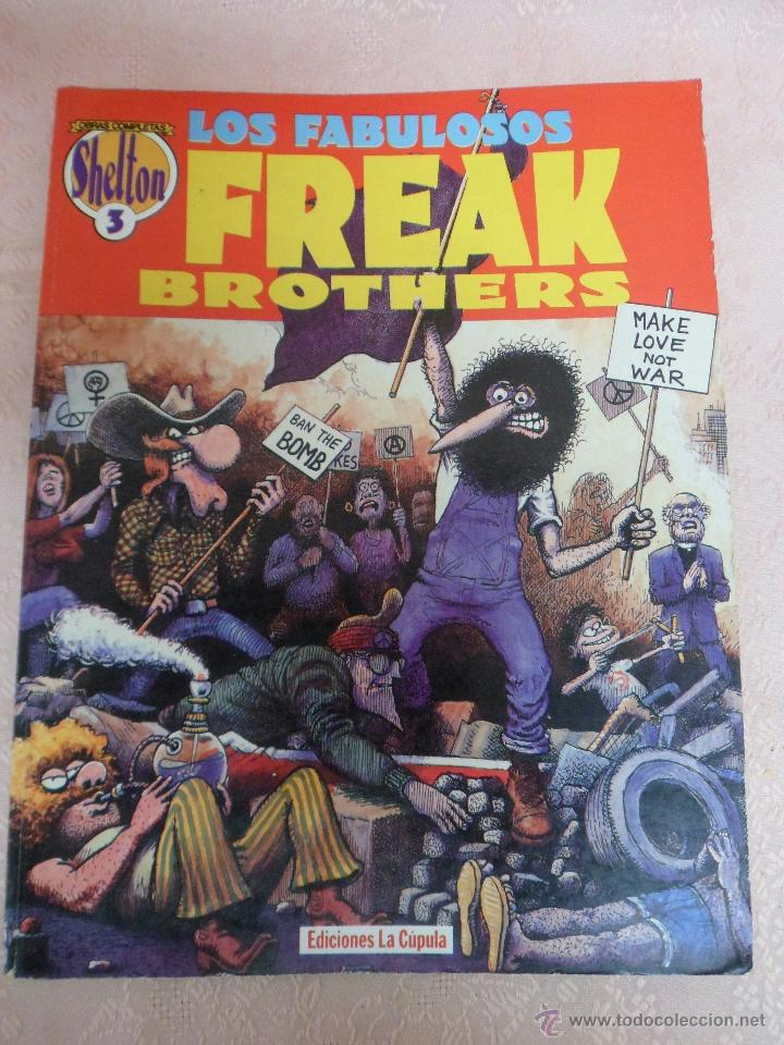 THE FREAK BROTHERS 1ª EDICIÓN NÚMERO 3 EDICIONES LA CÚPULA (Tebeos y Comics - La Cúpula - Comic USA)