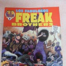 Fumetti: THE FREAK BROTHERS 1ª EDICIÓN NÚMERO 3 EDICIONES LA CÚPULA. Lote 49334368