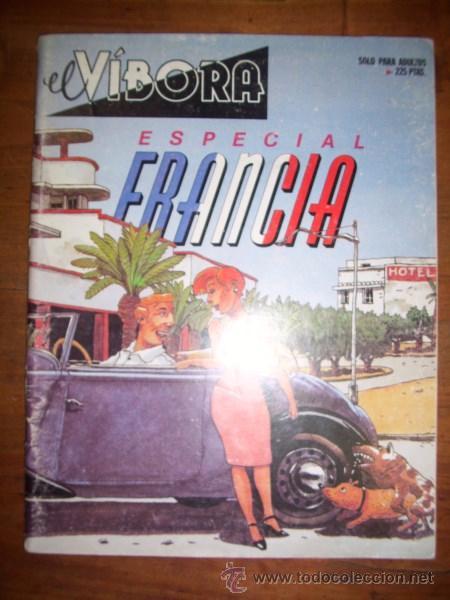 EL VÍBORA. ESPECIAL FRANCIA (Tebeos y Comics - La Cúpula - El Víbora)