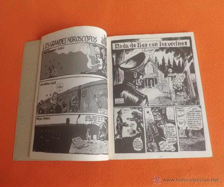 Cómics: HITLER=SS MAYO DE 1990 TIRADA LIMITADA Y CENSURADA EDIC. MAKOKI VUILLEMIN - GOURIO BUEN ESTADO - Foto 2 - 139367666