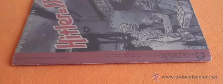 Cómics: HITLER=SS MAYO DE 1990 TIRADA LIMITADA Y CENSURADA EDIC. MAKOKI VUILLEMIN - GOURIO BUEN ESTADO - Foto 4 - 139367666