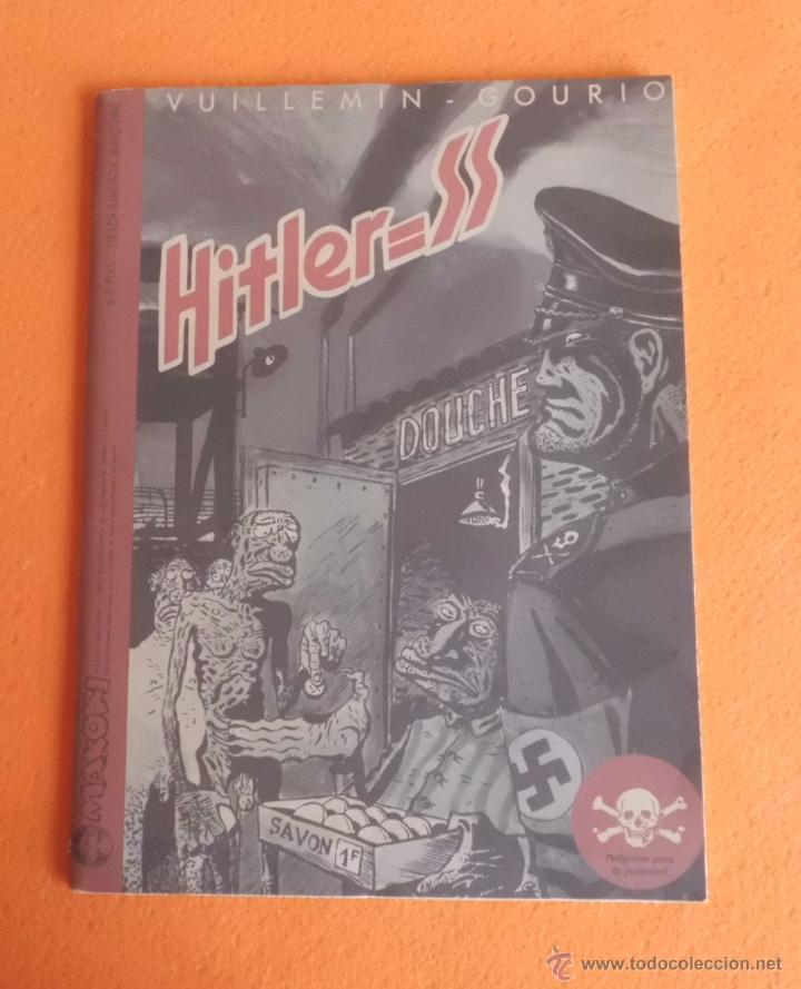 Cómics: HITLER=SS MAYO DE 1990 TIRADA LIMITADA Y CENSURADA EDIC. MAKOKI VUILLEMIN - GOURIO BUEN ESTADO - Foto 5 - 139367666