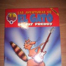 Fumetti: SHELTON, GILBERT. LAS AVENTURAS DE EL GATO DE FAT FREDDY. [OBRAS COMPLETAS. SHELTON ; 9]. Lote 49870104