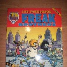 Fumetti: SHELTON, GILBERT. LOS FABULOSOS FREAK BROTHERS. [OBRAS COMPLETAS. SHELTON ; 11]. Lote 49870266