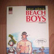 Cómics: KÖNIG, RALF. BEACH BOYS. Lote 49871129
