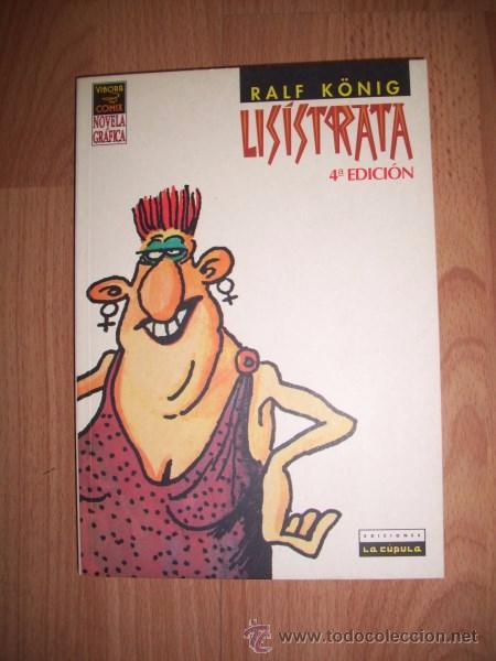 KÖNIG, RALF. LISÍSTRATA (Tebeos y Comics - La Cúpula - Comic Europeo)