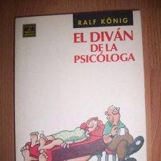 Cómics: KÖNIG, RALF. EL DIVÁN DE LA PSICÓLOGA. Lote 49871335