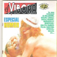 Cómics: UN ANTIGUO COMIC AÑOS 80 - EL VIBORA - ESPECIAL HUMOR. Lote 49951709
