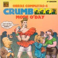 Cómics: ROBERT CRUMB - OBRAS COMPLETAS - 4 · MODE O'DAY (2ª EDICIÓN). Lote 50432106
