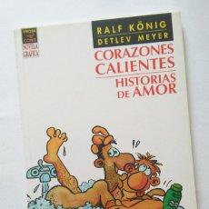 Cómics: PROMOCION KONIG: CORAZONES CALIENTES, HISTORIAS DE AMOR.. Lote 50588342