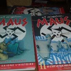 Cómics: ART SPIEGELMAN. MAUS. TOMOS I Y II. CON TAPAS. EN FRANCES. Lote 50646631