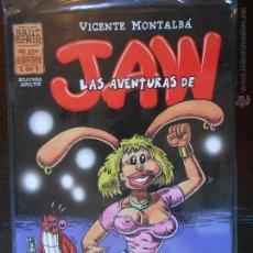 Comics: LAS AVENTURAS DE JAW - VICENTE MONTALBA - BRUT COMIX - LA CUPULA (M1). Lote 51031664
