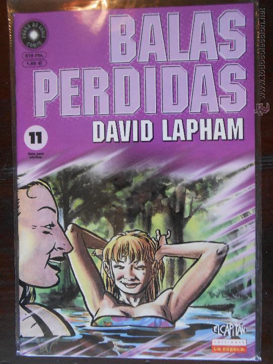 BALAS PERDIDAS - Nº 11 - DAVID LAPHAM - LA CUPULA - NUEVO (U1) (Tebeos y Comics - La Cúpula - Comic USA)
