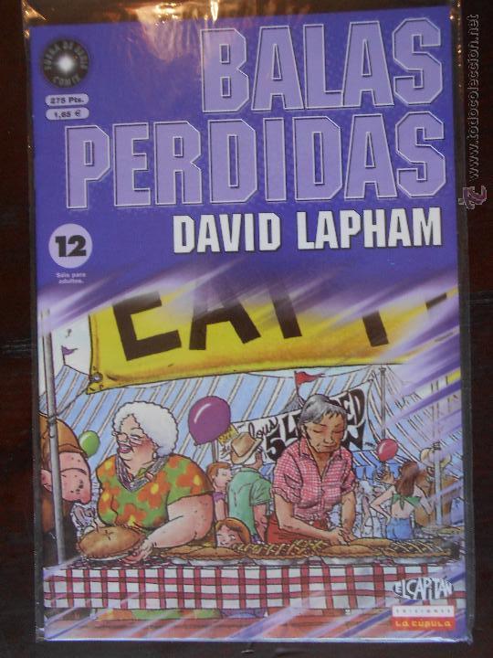 BALAS PERDIDAS - Nº 12 - DAVID LAPHAM - LA CUPULA - NUEVO (U1) (Tebeos y Comics - La Cúpula - Comic USA)